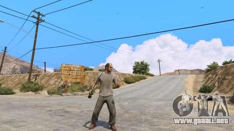 GTA 5 Cimitarra de Skyrim segunda captura de pantalla