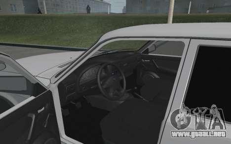 GAZ Volga 3110 para GTA San Andreas vista hacia atrás