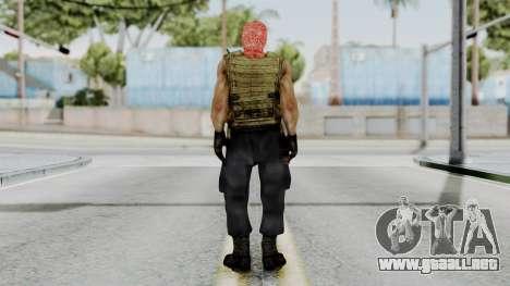 Terrorist para GTA San Andreas tercera pantalla