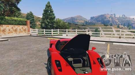 GTA 5 Ferrari Enzo v0.5 vista lateral derecha
