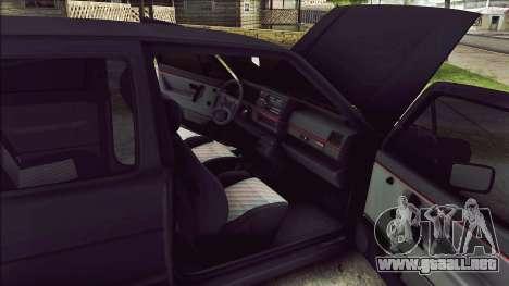 Volkswagen Golf Mk2 Line para visión interna GTA San Andreas
