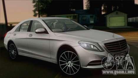 Mercedes-Benz S500 W222 para GTA San Andreas