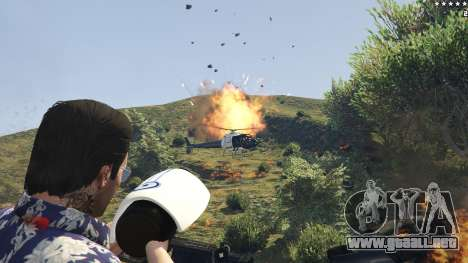 GTA 5 Cinematic Explosion FX 1.12a