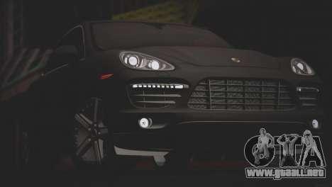 Porsche Cayenne Turbo 2012 para GTA San Andreas interior