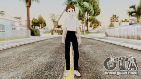 Shinji Ikari (Evangelion) para GTA San Andreas segunda pantalla