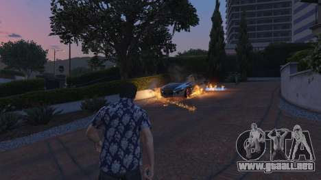 4K Fire Overhaul 2.0 para GTA 5
