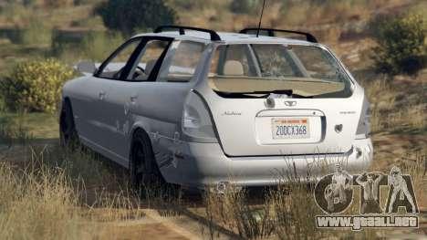 Daewoo Nubira I Wagon NOSOTROS 1999 - versión FI para GTA 5