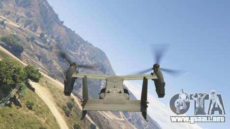 CV-22B Osprey (VTOL) para GTA 5