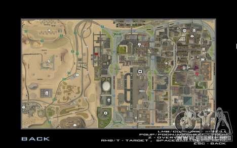 HD tarjeta para Diamondrp para GTA San Andreas quinta pantalla