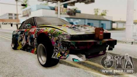 Nissan R13 para GTA San Andreas left