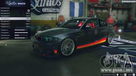 GTA 5 Motor BMW 1M v1.0