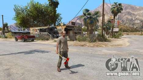 GTA 5 Hacha de Dead Rising