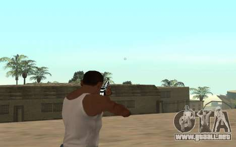 Rifle con un cachorro de tigre para GTA San Andreas tercera pantalla