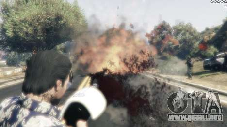 GTA 5 Cinematic Explosion FX 1.12a quinta captura de pantalla