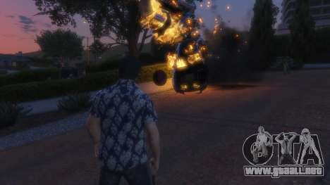 GTA 5 4K Fire Overhaul 2.0 cuarto captura de pantalla