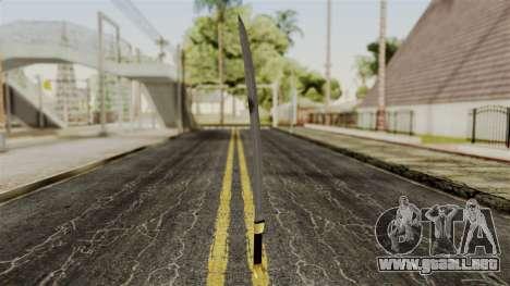 El comprobador de para GTA San Andreas tercera pantalla
