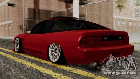 Nissan Silvia Odyvia para GTA San Andreas left