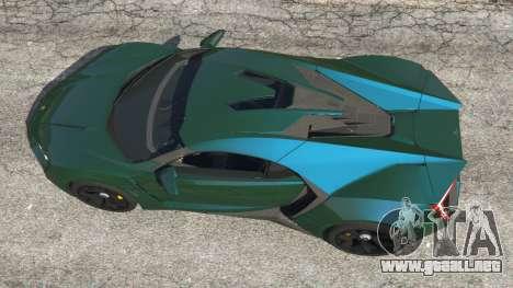 GTA 5 Lykan Hypersport 2014 v1.1.5 vista trasera