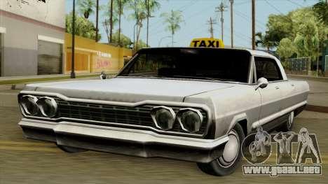 Taxi-Savanna para GTA San Andreas