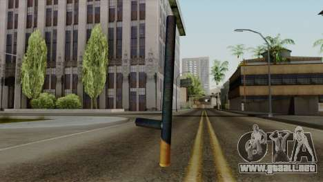 Brasileiro Night Stick v2 para GTA San Andreas segunda pantalla