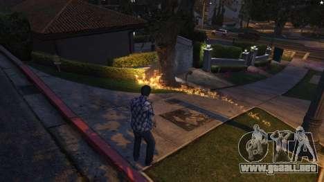 GTA 5 4K Fire Overhaul 2.0 quinta captura de pantalla