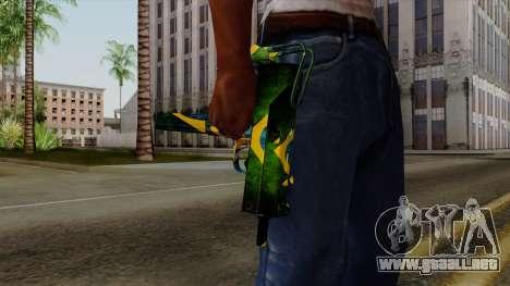 Brasileiro Micro Uzi v2 para GTA San Andreas tercera pantalla