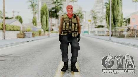 Terrorist para GTA San Andreas segunda pantalla