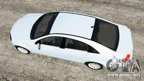 GTA 5 Chevrolet Caprice LS 2014 vista trasera