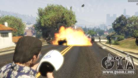 GTA 5 Cinematic Explosion FX 1.12a tercera captura de pantalla