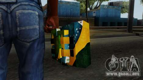 Brasileiro Satchel v2 para GTA San Andreas tercera pantalla