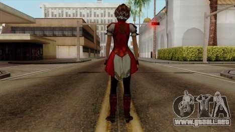 Shin Sangoku Musou 8 - Sun ShangXiang para GTA San Andreas tercera pantalla