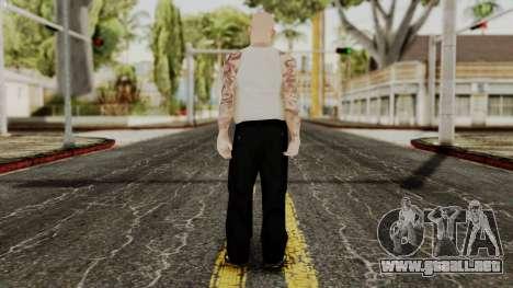 Alice Baker Young Member without Glasses para GTA San Andreas tercera pantalla