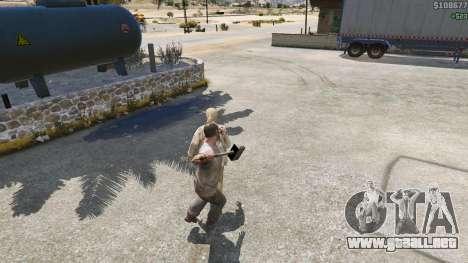 GTA 5 Martillo de Shao Kahn de Mortal Kombat quinta captura de pantalla