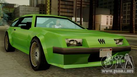 Deluxo from Vice City Stories para GTA San Andreas