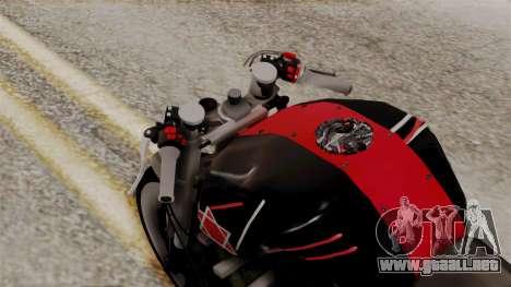 Byson Street Fighter para GTA San Andreas vista hacia atrás