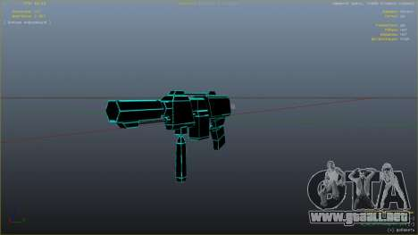 Saints Row 3 Cyber SMG Emissive v1.01 para GTA 5