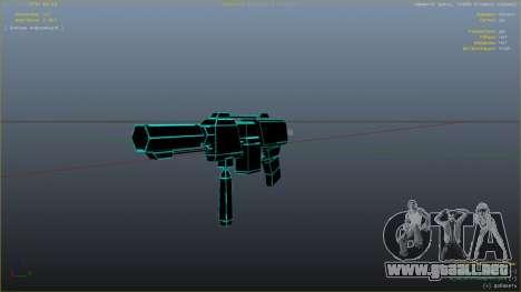 GTA 5 Saints Row 3 Cyber SMG Emissive v1.01 noveno captura de pantalla
