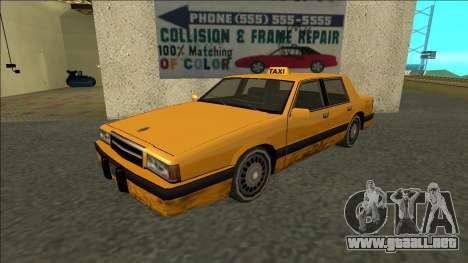 Willard Taxi para GTA San Andreas