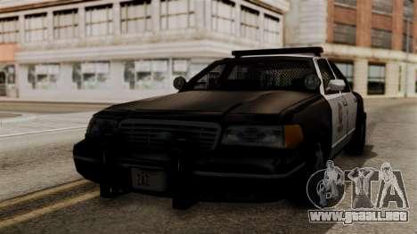 Ford Crown Victoria LP v2 LSPD para GTA San Andreas