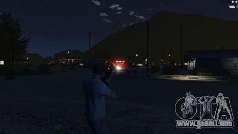 GTA 5 Laser Rocket Mod V5 cuarto captura de pantalla