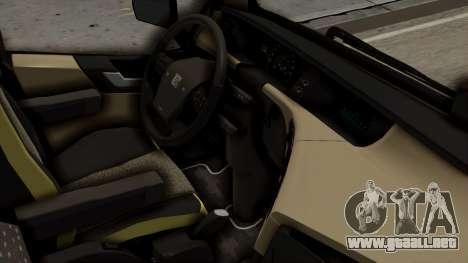 Volvo FH Euro 6 10x4 Exclusive High Cab para la visión correcta GTA San Andreas