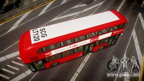 Wrightbus New Routemaster Stagecoach para GTA 4 visión correcta