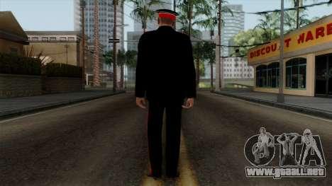 Vice-Sargento Kazan AVC v2 para GTA San Andreas tercera pantalla