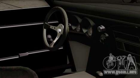 Chevrolet Camaro SS para la visión correcta GTA San Andreas