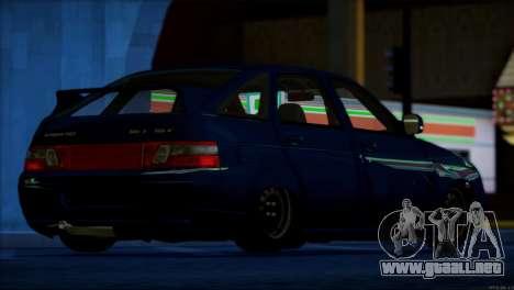 VAZ 2112 artículos de Calidad para GTA San Andreas interior