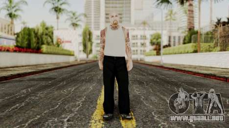 Alice Baker Young Member without Glasses para GTA San Andreas segunda pantalla