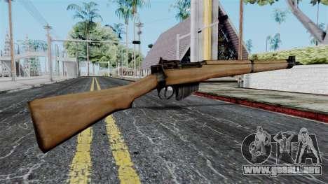 Lee-Enfield No.4 from Battlefield 1942 para GTA San Andreas segunda pantalla