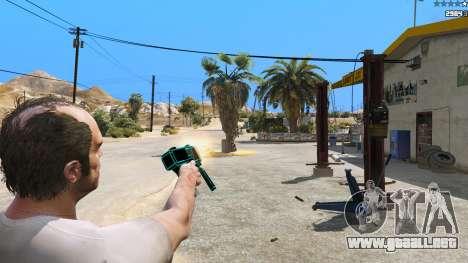 GTA 5 Saints Row 3 Cyber SMG Emissive v1.01 cuarto captura de pantalla
