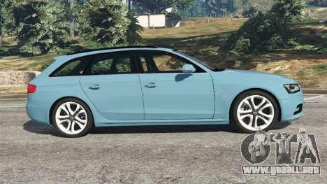 GTA 5 Audi A4 Avant 2013 vista lateral izquierda
