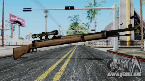 Kar98k Scope from Battlefield 1942 para GTA San Andreas